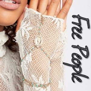 Free People Jewelry - Free People Madrid Hand Chain Rosary